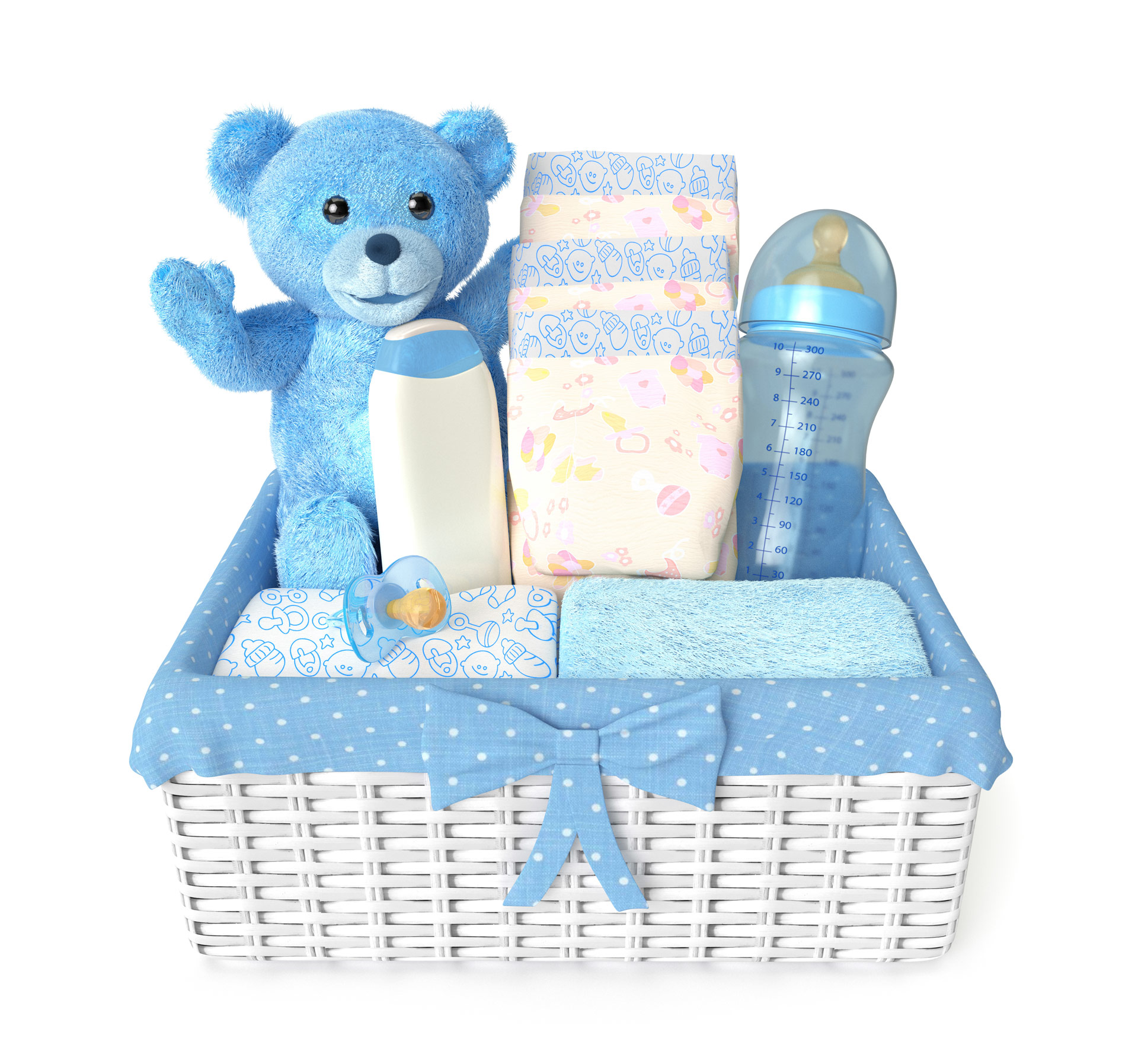 Home / Packaging / Baby Showers / Baby Gift Basket
